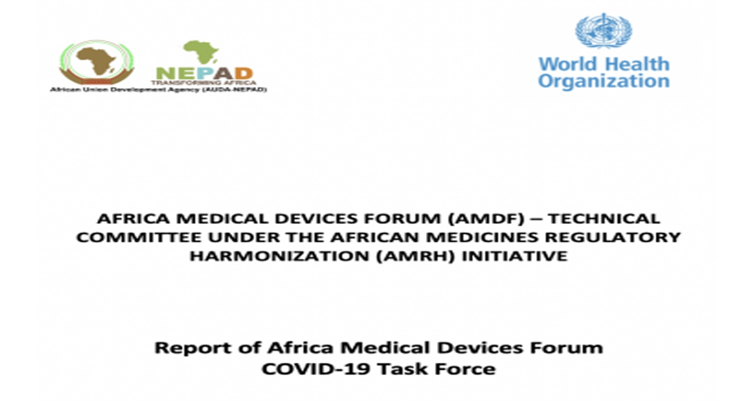 Report of Africa Medical Devices Forum COVID-19 Task Force
